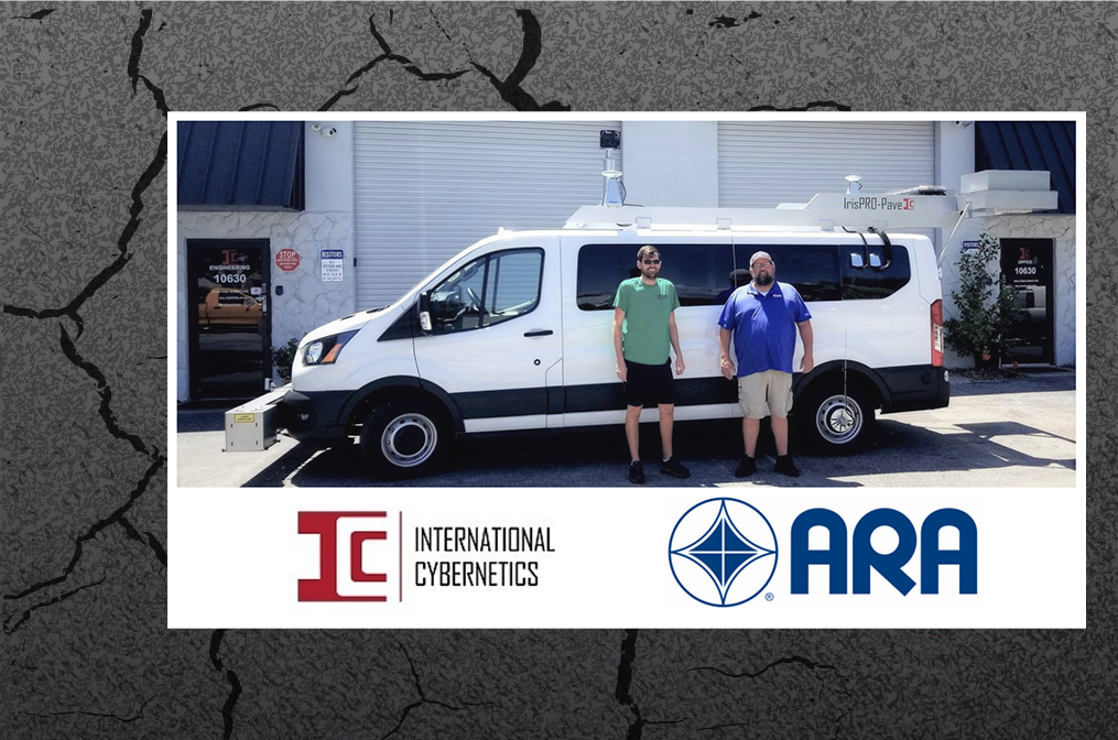 ARA Picks up ICC's Latest IrisPRO Pave Survey Vehicle